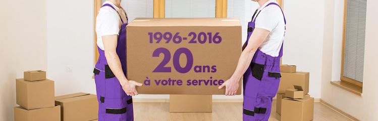 vingt ans de service